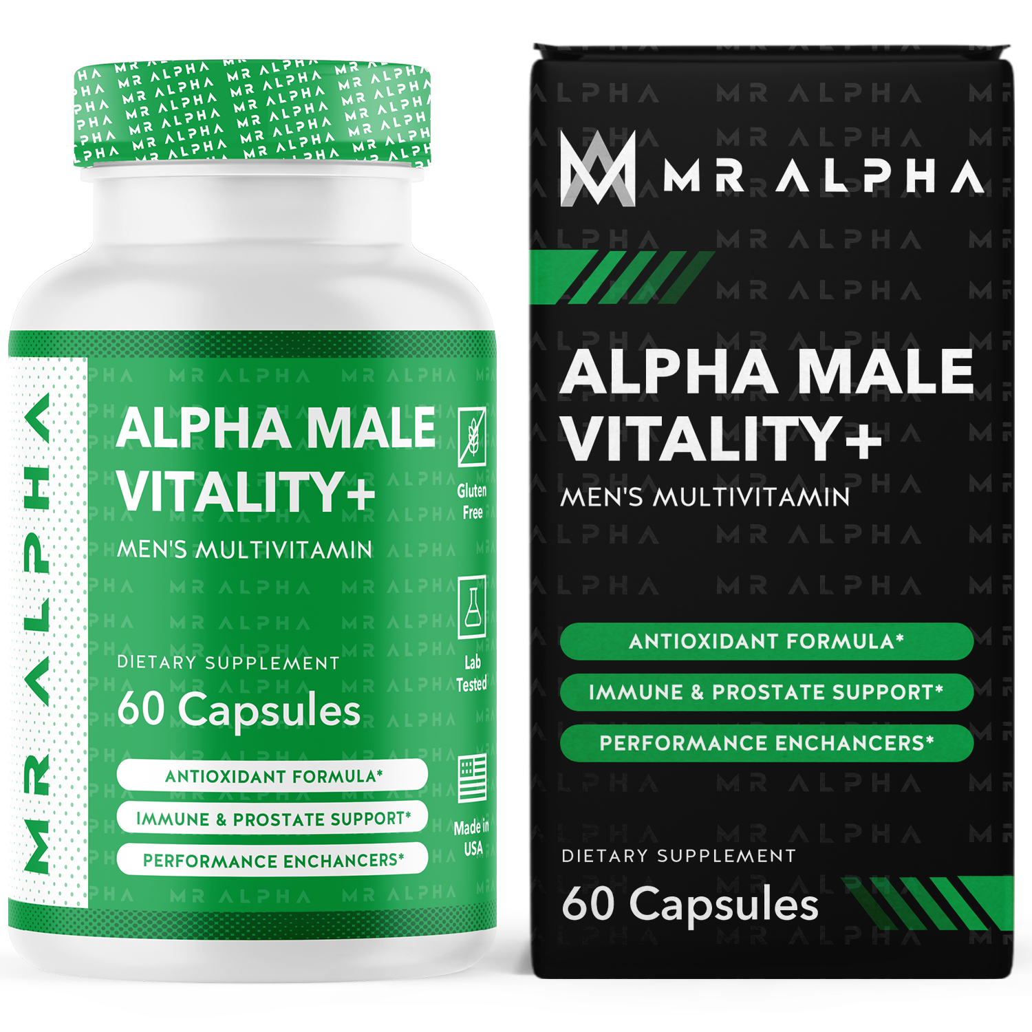 ALPHA MALE VITALITY+ - 3 Month Supply