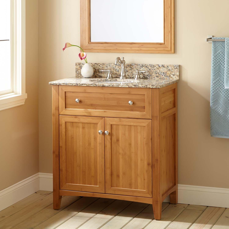 30 Halbur Bamboo Vanity For Undermount Sink Bathroom Vanities Bathroom Cheap Bathroom Vanities Bathroom Design Small Home Depot Bathroom Vanity [ 1500 x 1500 Pixel ]