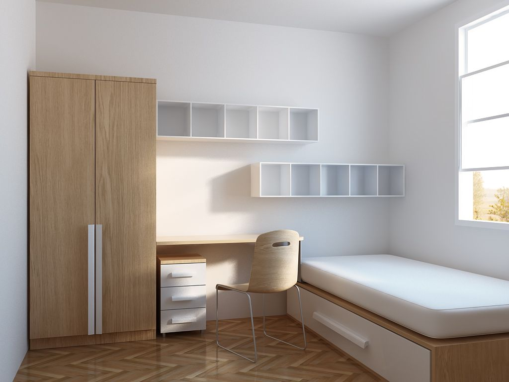 35 Minimalist Bedroom Design For Smal Rooms
