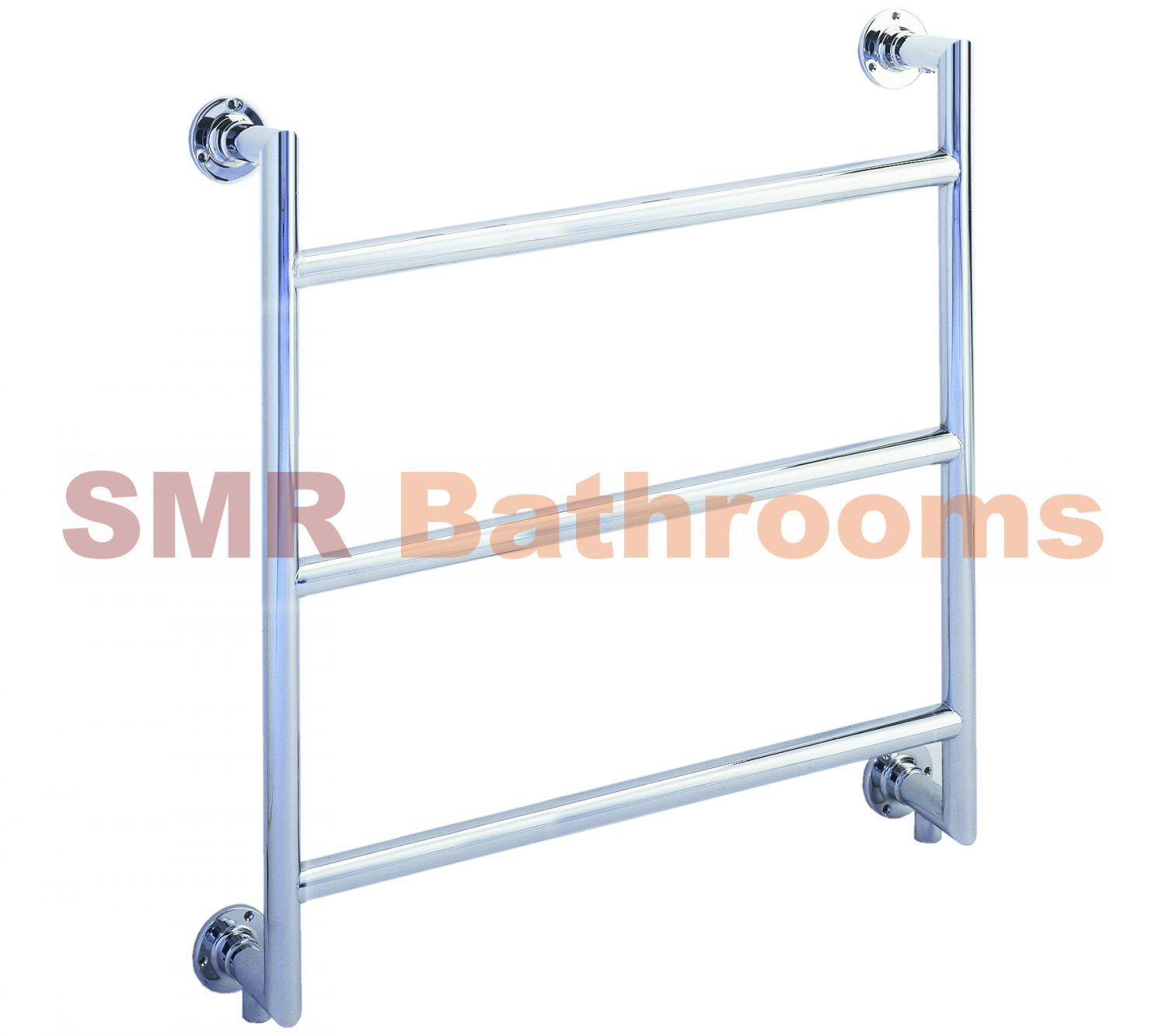 Wall Mounted Towel Rail 3 Bars With Mitre Joints