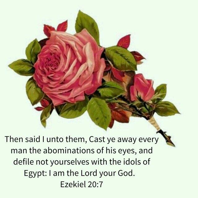Ezekiel 20:7 kjv