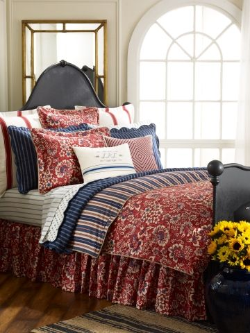 Villa Martine Bedding Collection Lauren Home Bed