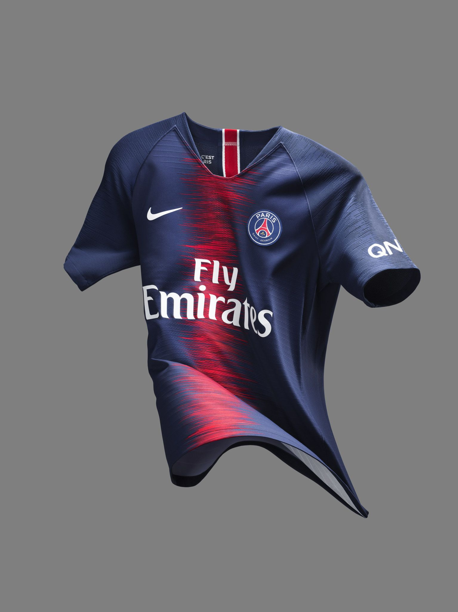 a3c0a78a9effc9 Paris Saint-Germain 2018-19 Nike Home Kit