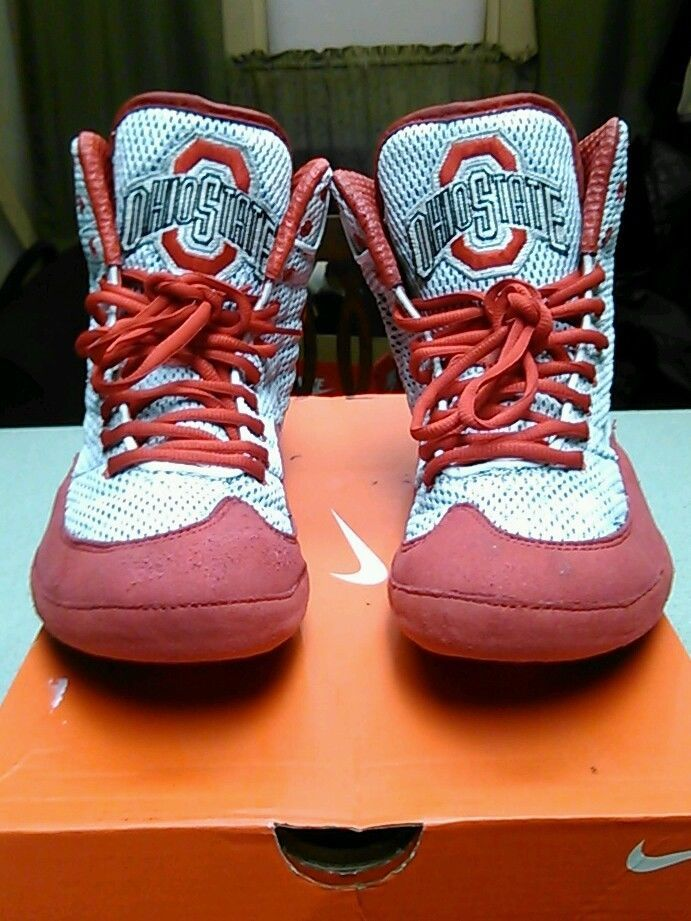 ohio state wrestling shoes. Custom