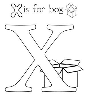 letter x for box coloring pages pattern design ideas alphabet coloring pages alphabet. Black Bedroom Furniture Sets. Home Design Ideas