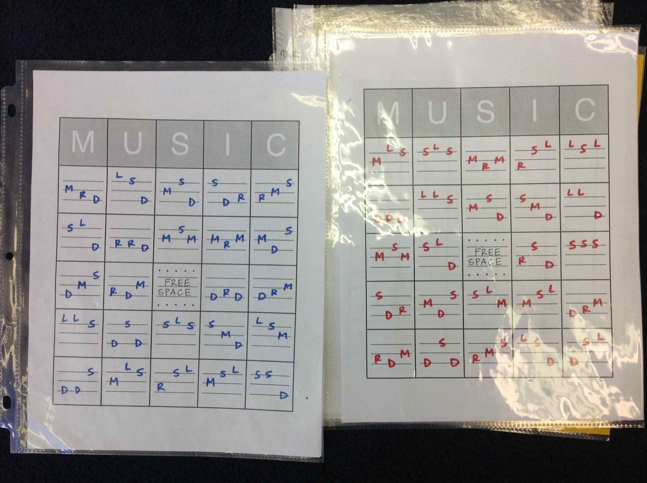 Music Bingo With Solfege