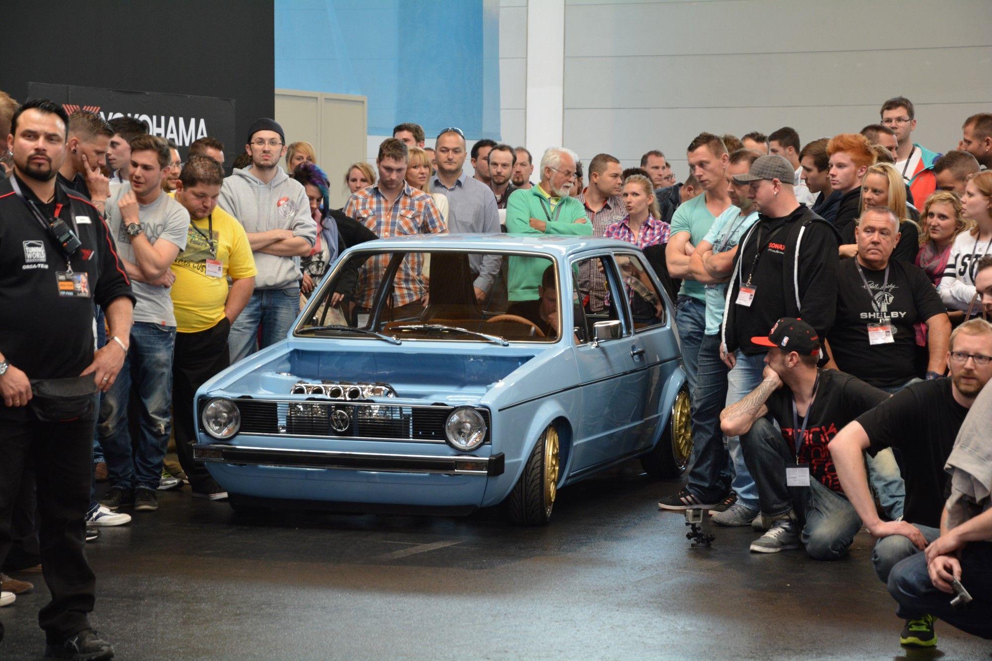 VW Golf Mk1: Der geilste Motorraum der Szene!  http://www.autotuning.de/vw-golf-mk1-der-geilste-motorraum-der-szene/ ETS, ETS 2014, Golf, Mk1, TuningWorld, Volkswagen, VW, VW Golf 1