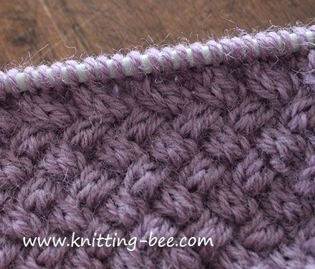 Diagonal Basketweave Cable Stitch pattern Knitting For Dummies Pinterest ...