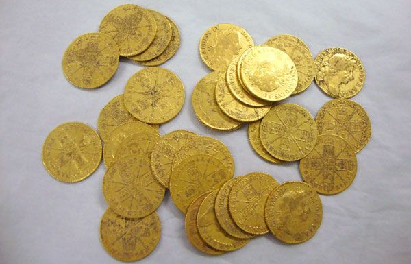81 Gold Coins Discovered Under The Floor Boards Of A
