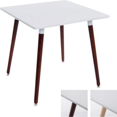 Ess Tisch BENTE, Quadratisch 80 X 80 Cm, Höhe 75 Cm, 4