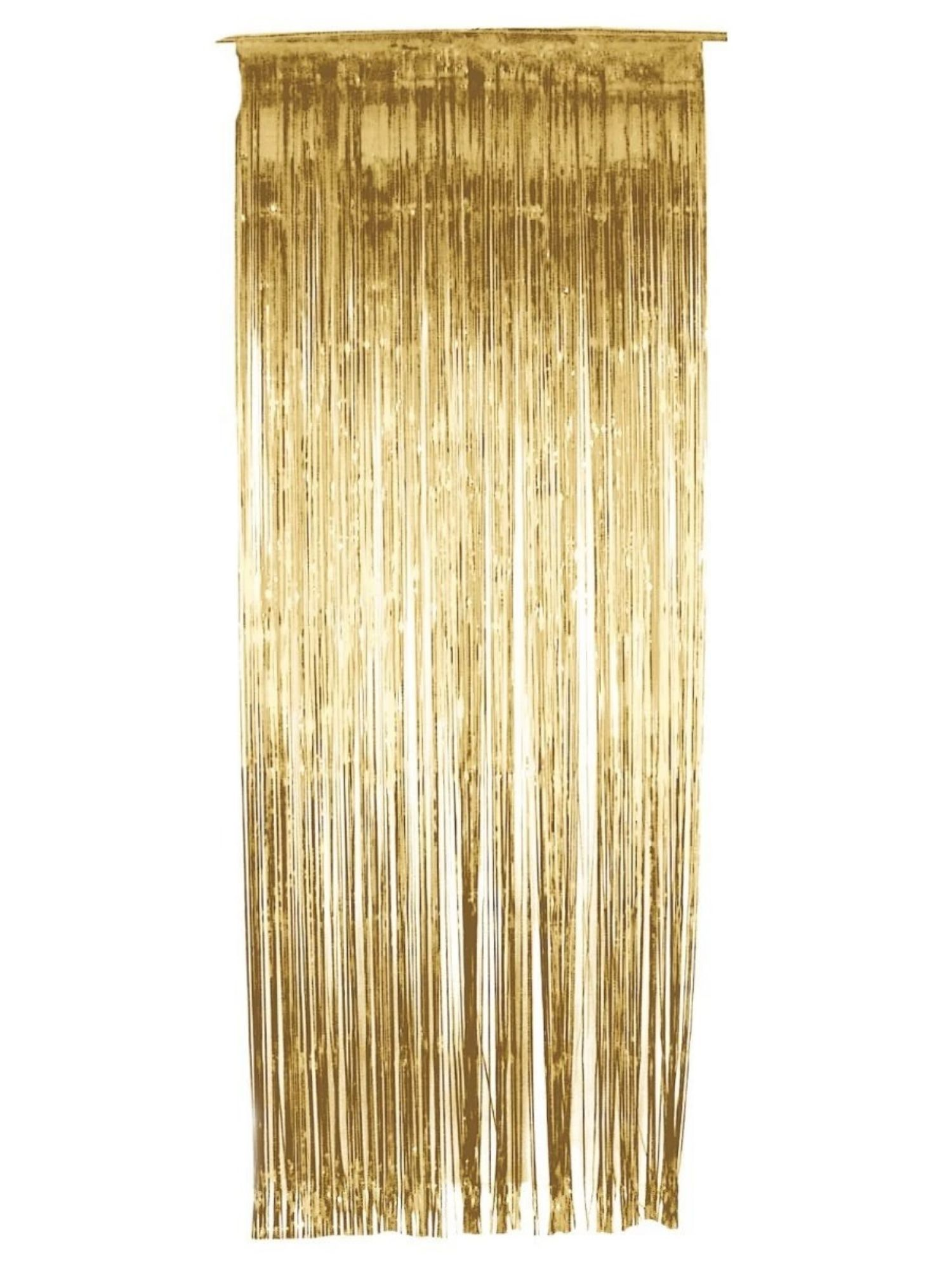 29 Gold Shimmer Window Curtain Halloween Decoration 33481975 In