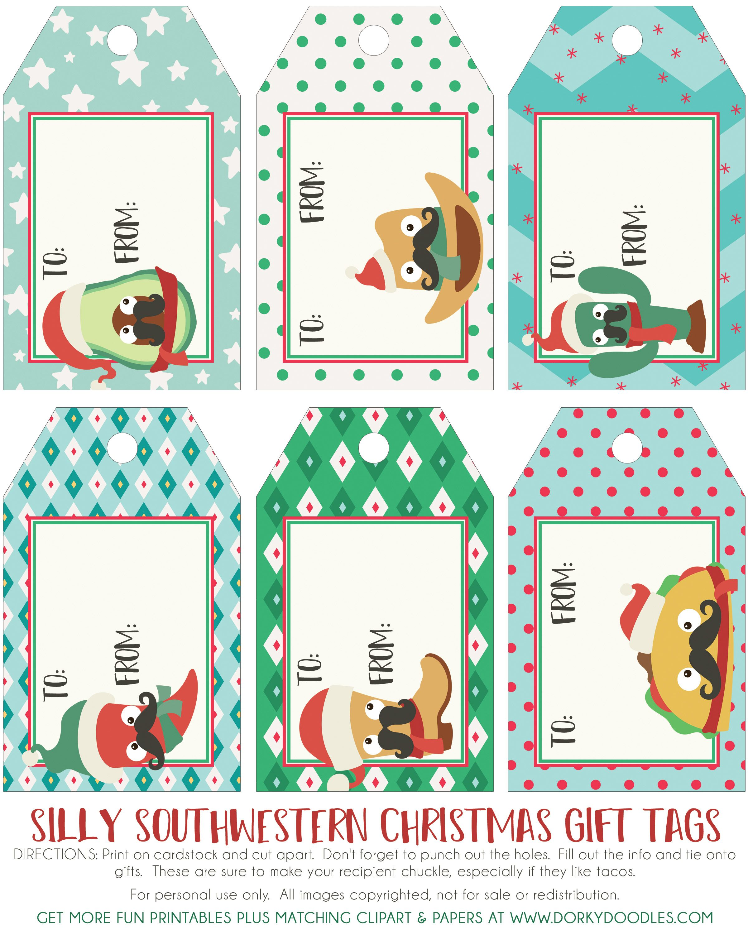 22++ Christmas clipart gift tags info