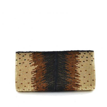 Summer nights are coming soon, pair this clutch with white jeans and our off the shoulder peasant blouse and you will be the talk of the town!