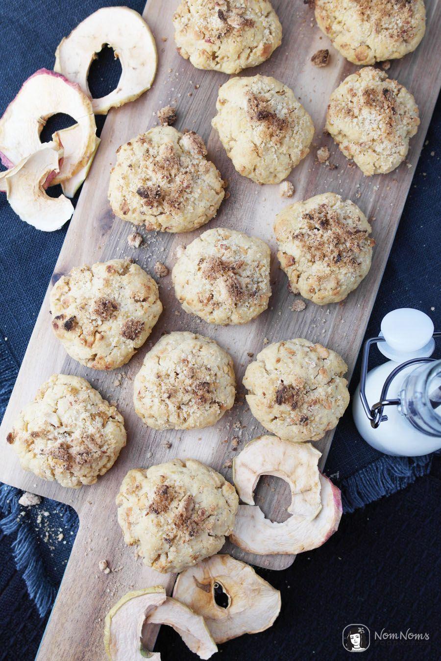 Apfel-Streusel-Kekse und wie ich Jamie Oliver traf  Jamies 16