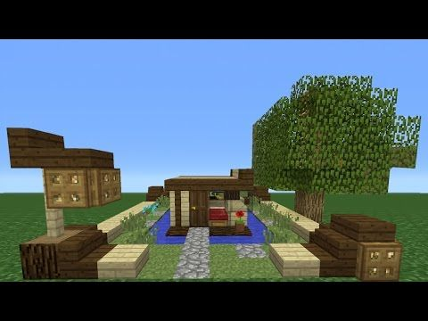 minecraft tutorial how to make a house smallest house ive ever made
