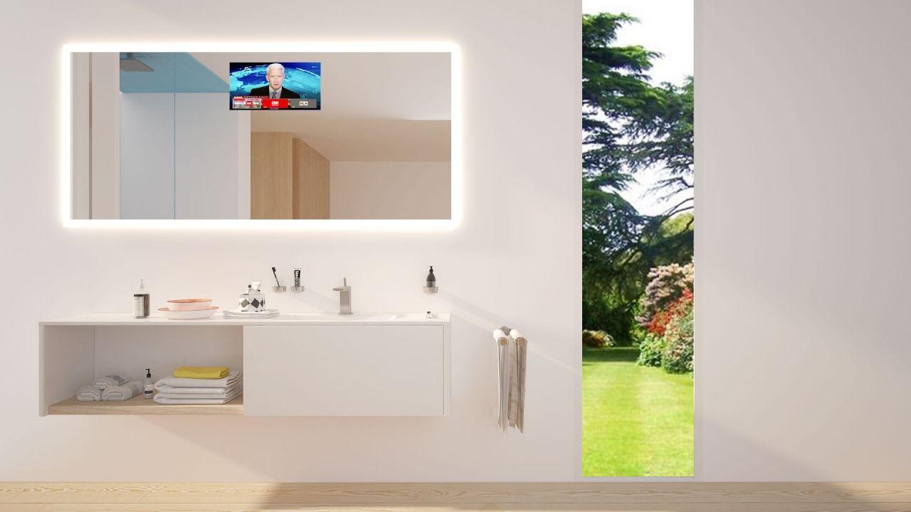 Badezimmerspiegel Mit Tv - House Interior - joecutbirth.com