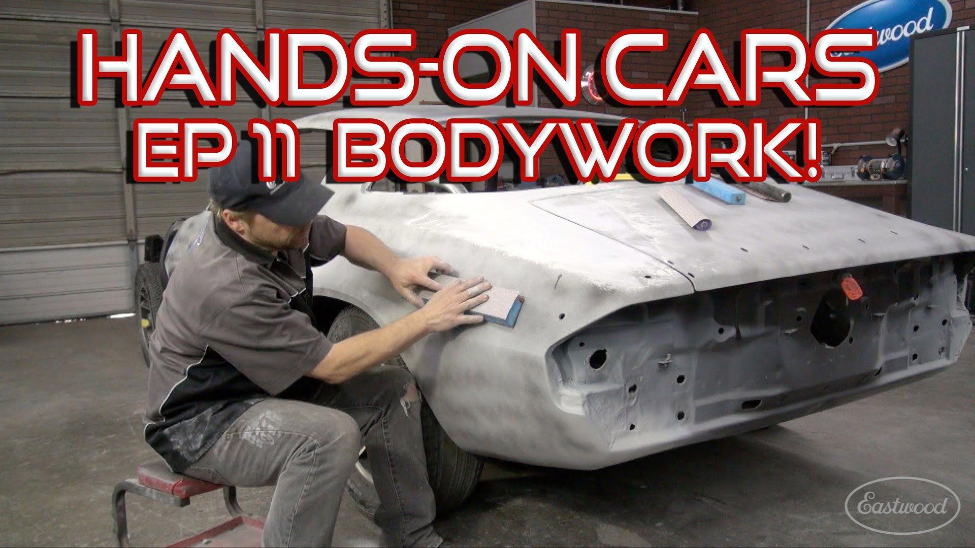 How To Bodywork A Car Spray Primer Surfacer On Hands On Cars 11 Get Automoblile