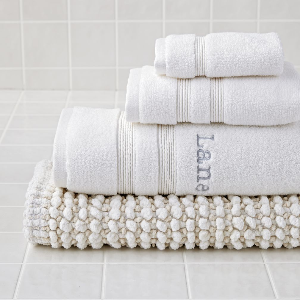 Fresh Start Bath Mat (White) The Land of Nod White