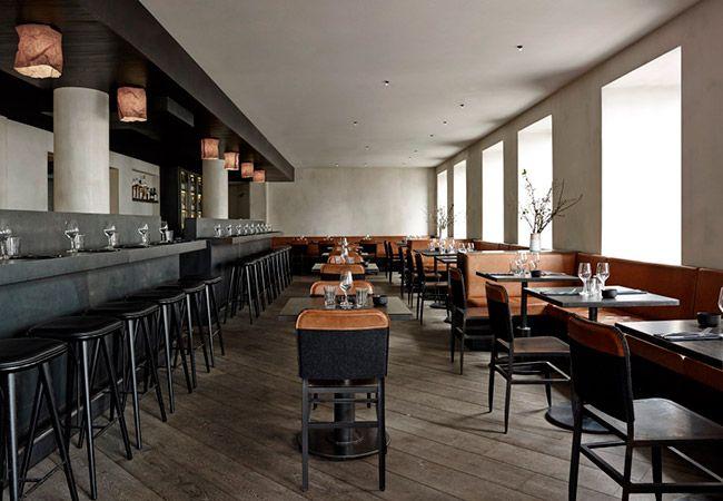 copenhagen's minimalist musling restaurant | copenhagen