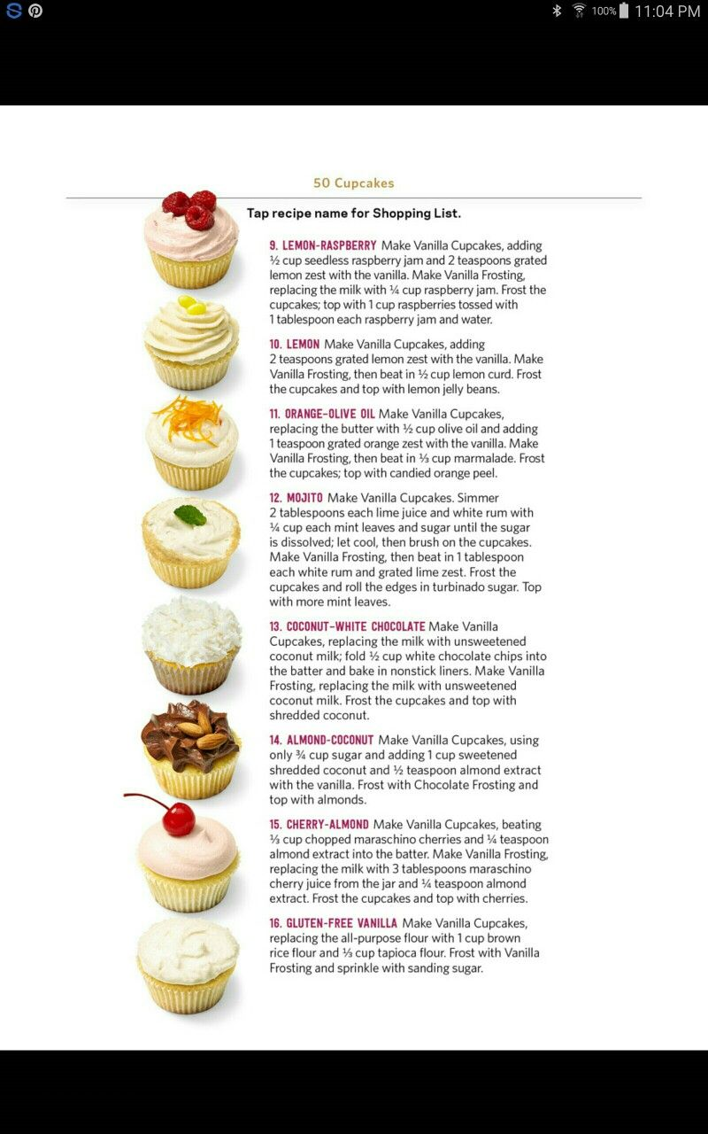 Pin By Krystle Barrett On Cupcakes Cupcake Cakes Cooking Recipes