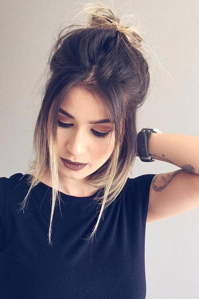 36 Easy And Cute Hairstyles For Medium Length Hair Cute Simple Hairstyles Cute Hairstyles For Medium Hair Medium Length Hair Styles