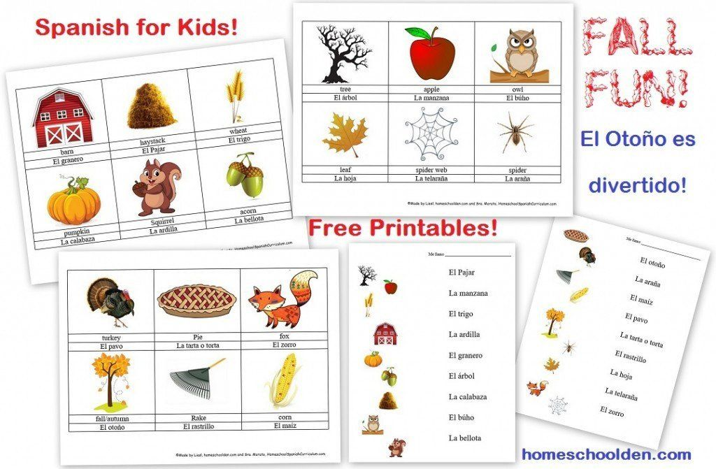 Free Spanish Worksheets for Kindergarten Free Spanish ...