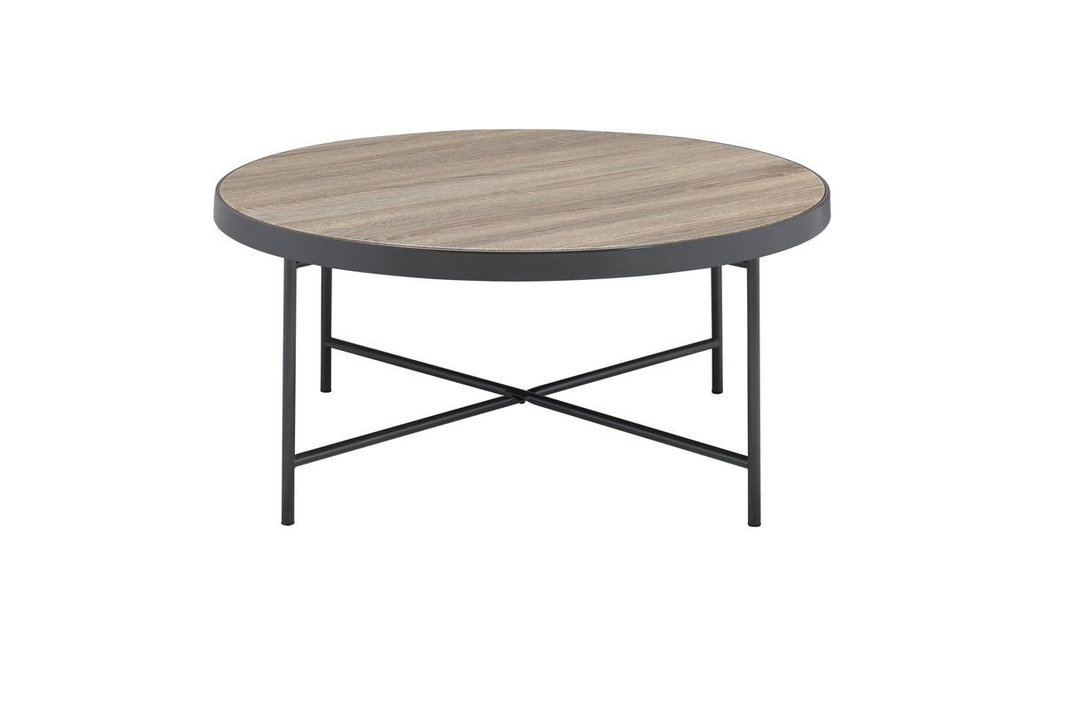Bage Coffee Table In Weathered Grey Oak By Acme From Gardner White Furniture Coffee Table Grey Oak Table [ 800 x 1200 Pixel ]