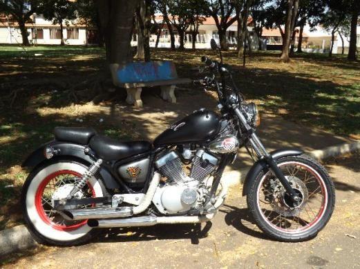 Yamaha Xv Virago 250cc Bobber Chopper Old School Troco Por Moto 125