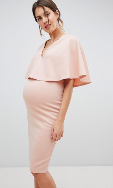 3b492006cc4 Gorgeous maternity and nursing cape dress! I absolutely love it! Click this  pin to