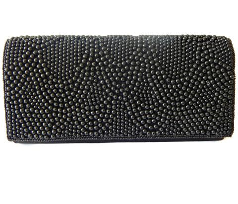 Beaded Evening Purse Vanessa Paris NY London