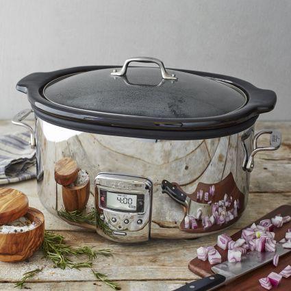 AllClad Slow Cooker 65 qt Cooker Kitchen gadgets and Dishwashers