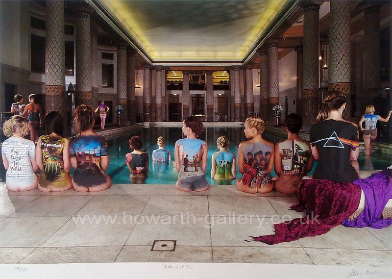 Swimwear Pink Floyd Naked Lady Poster Pic