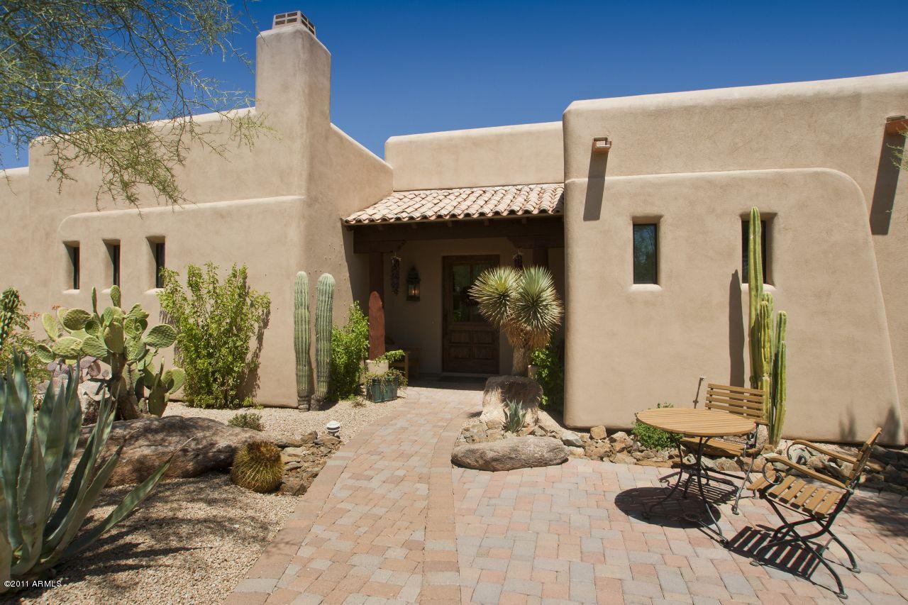 arizona hillside adobe Carefree Homes for Sale 3