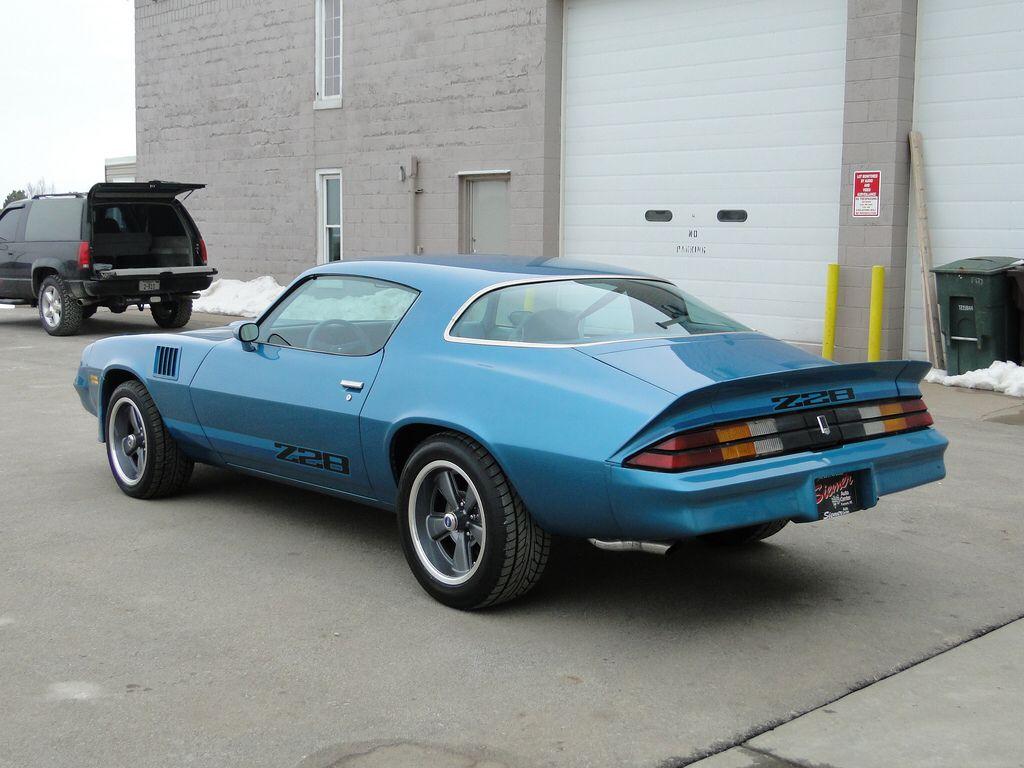 79 blue camaro