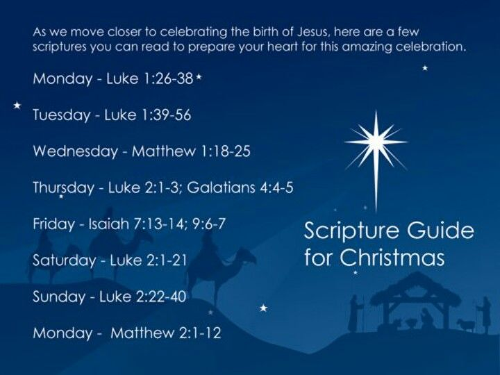Christmas Scriptures