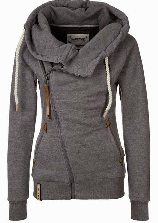 The Vogue Fashion  Naketano Side Zip Gray Hoodie   Want   Hoodies ... d58f137c4d