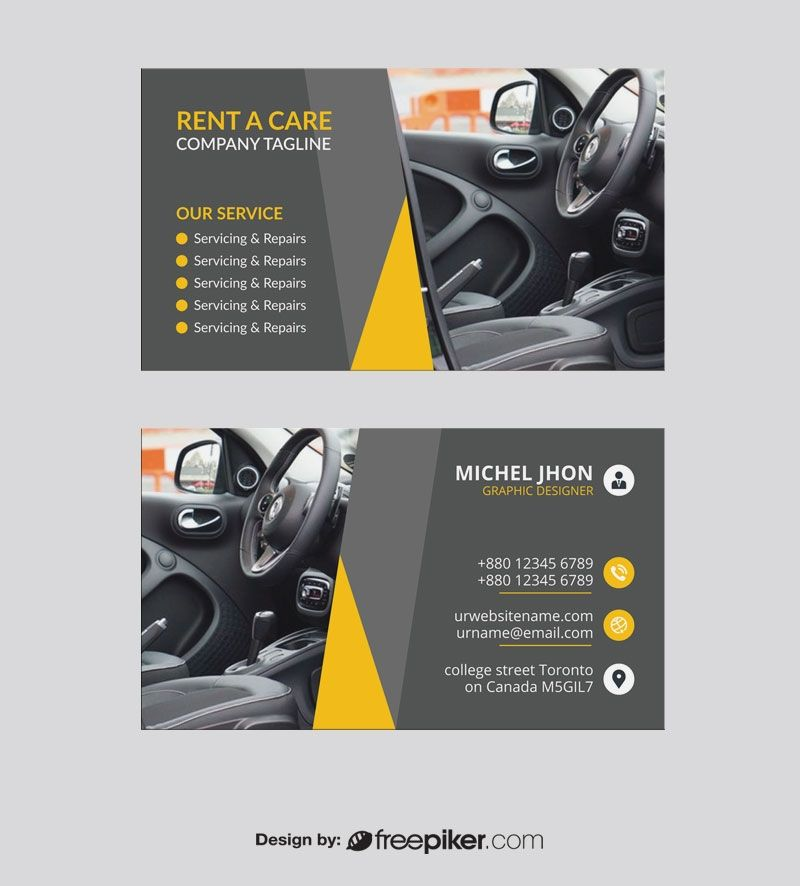 Car Wash Business Card Car Wash Business Business Cards Layout Download Business Card