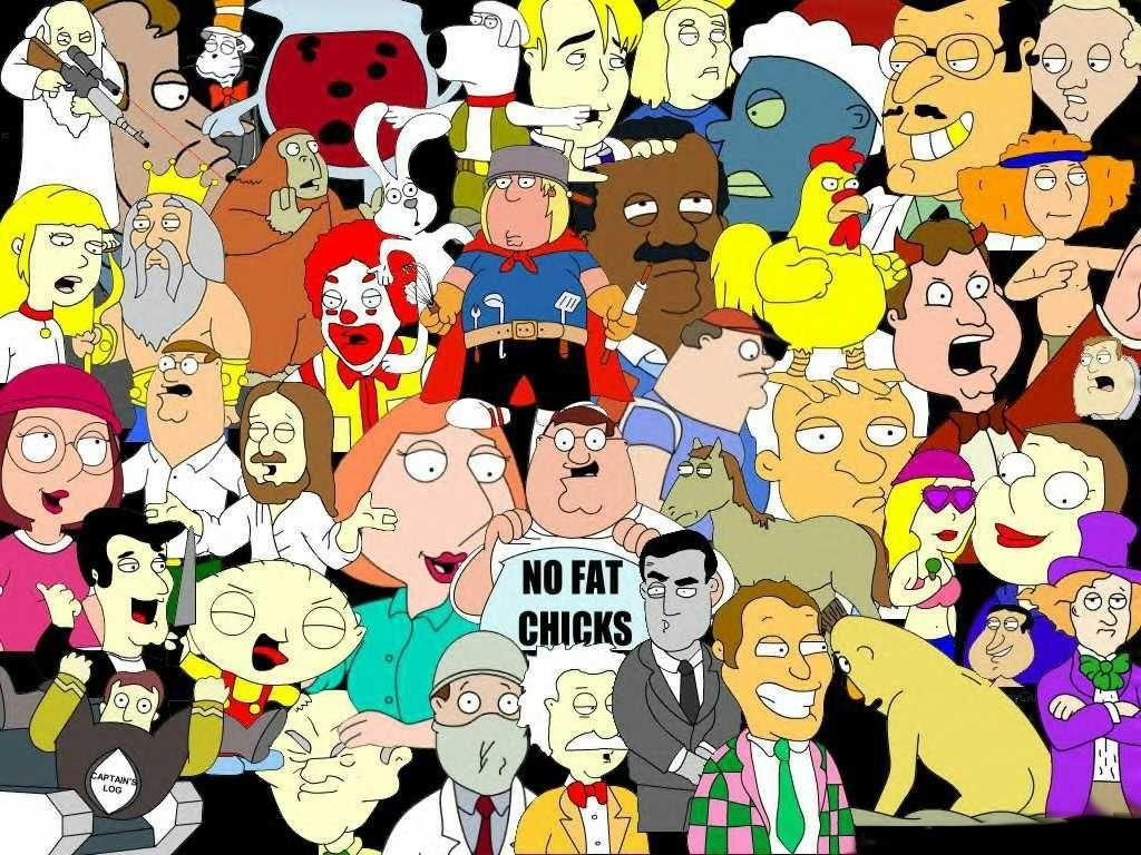 Family Guy Cartoon wallpaper, Family guy
