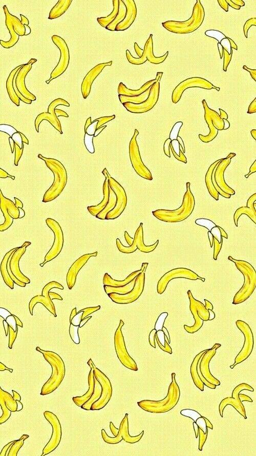 Картинка с синим фоном и бананами