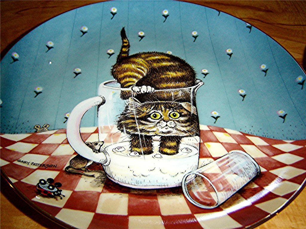 Gary Patterson Cats christmas Gary Patterson Comical