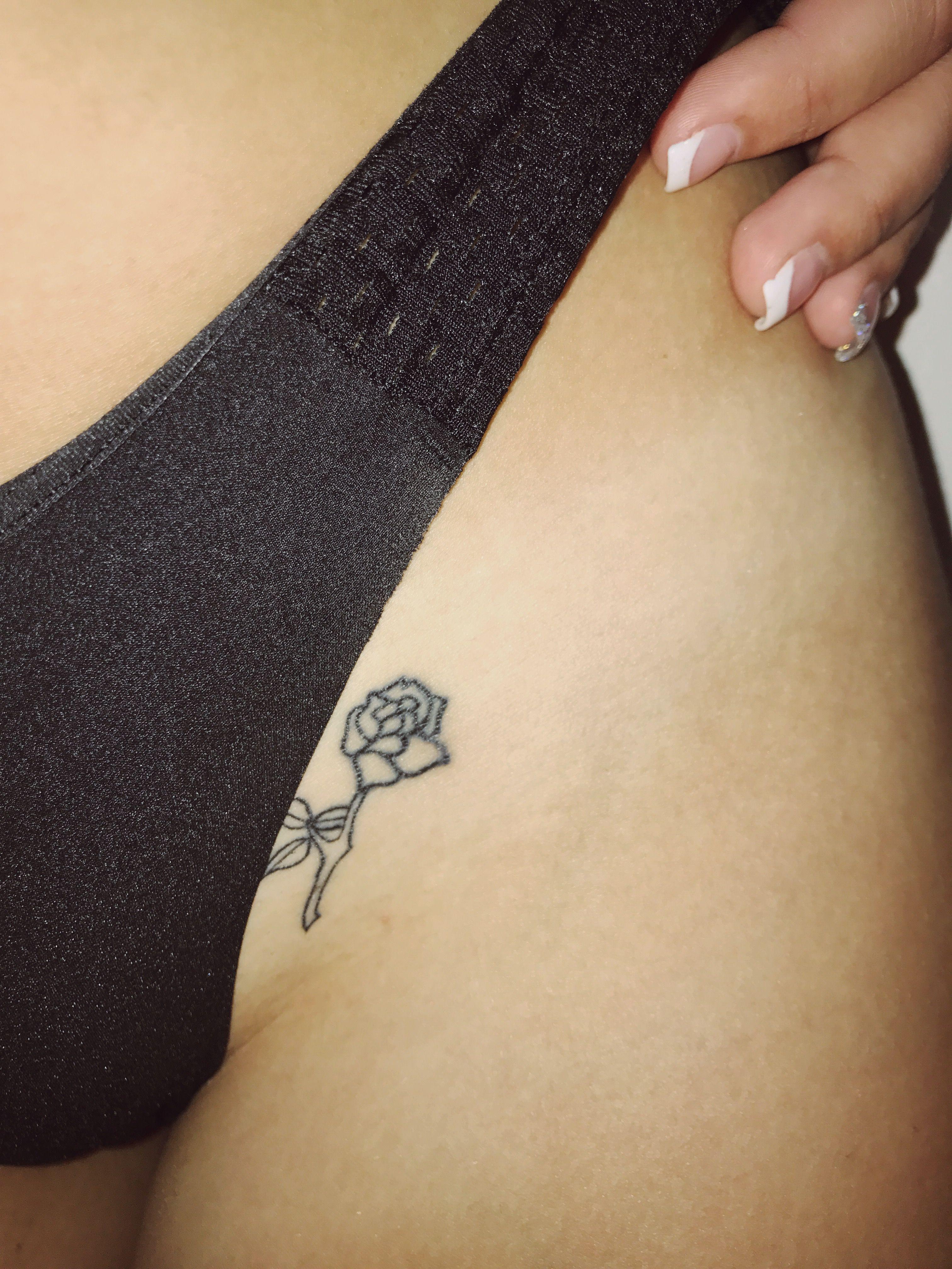 Rose Tattoo In 2020 Hip Thigh Tattoos Hip Tattoo Hip Tattoo Designs