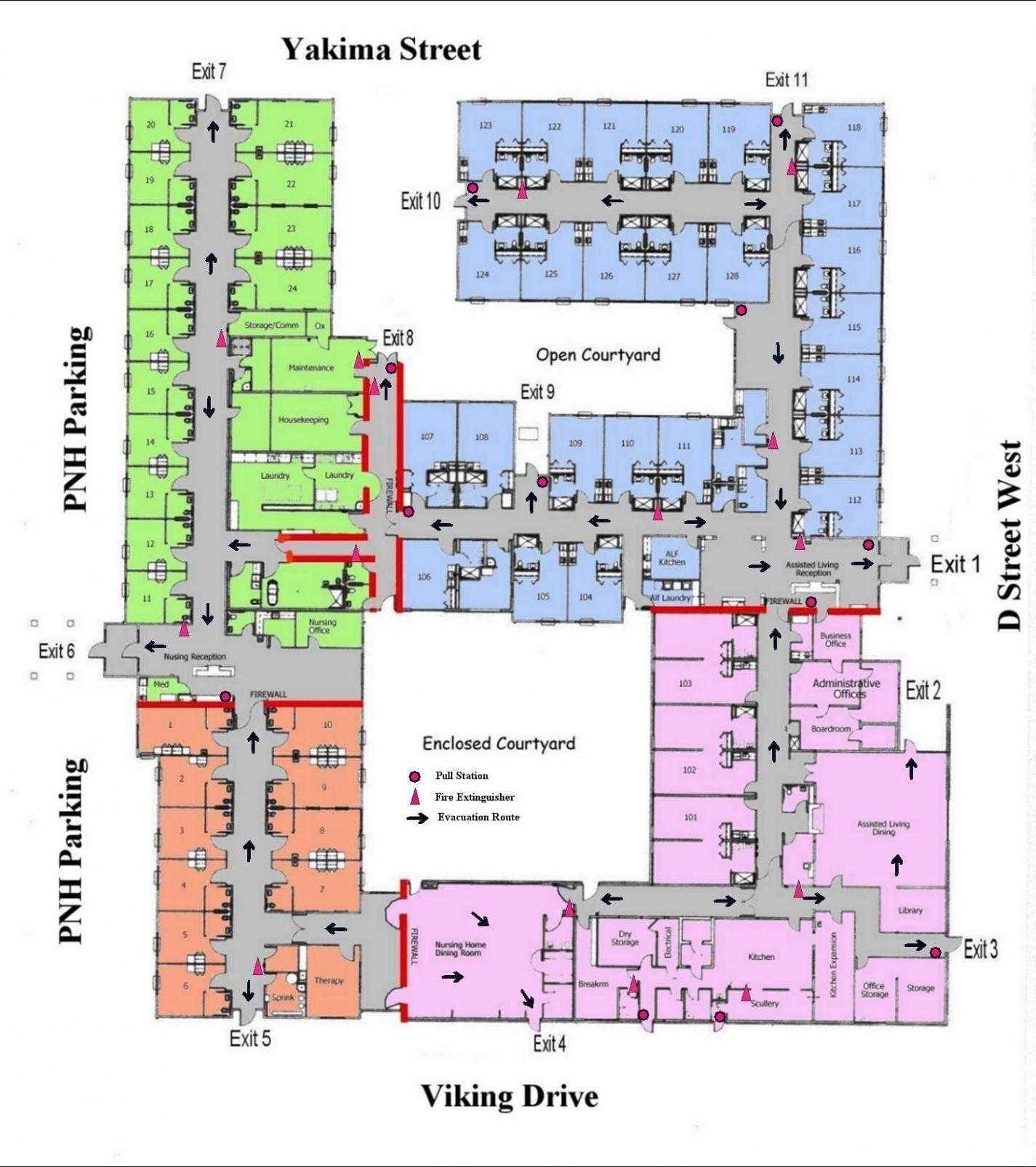 Hospital floor plan image by marla frazer on Courtyard