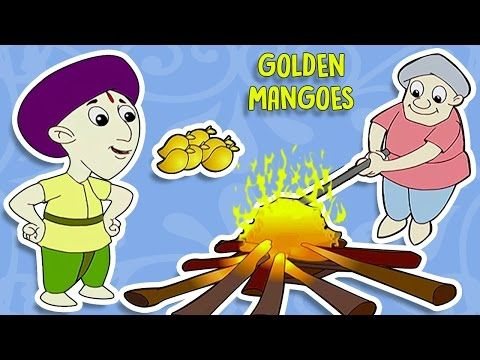 Tenali Raman Stories In Hindi | Golden Mangoes | Cartoon