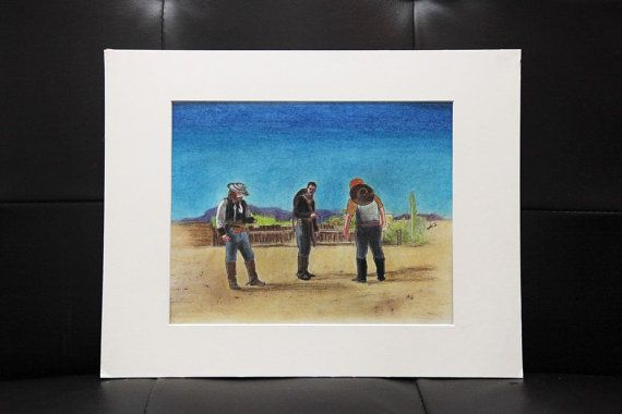 New Southwest/ Cowboys by Haboobs on Etsy, $150.00