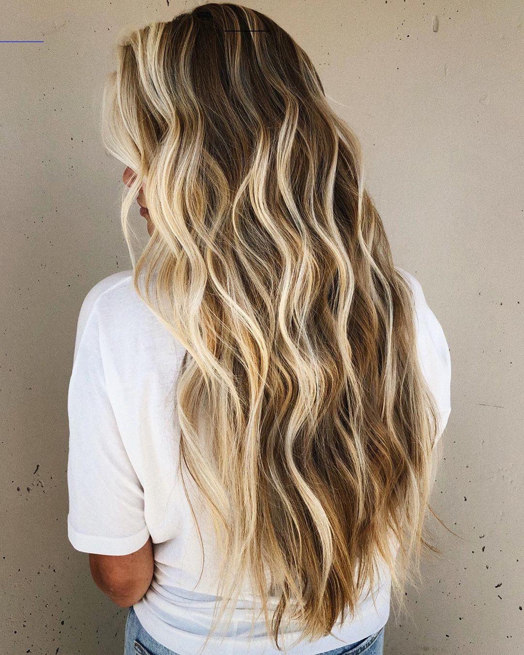 Lange Haare Beach Waves - Madame Frisuren