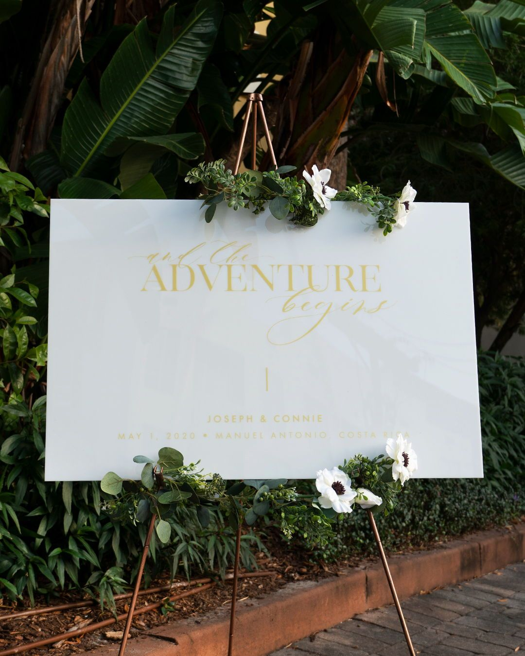 Large Wedding Sign For The Reception Or Ceremony