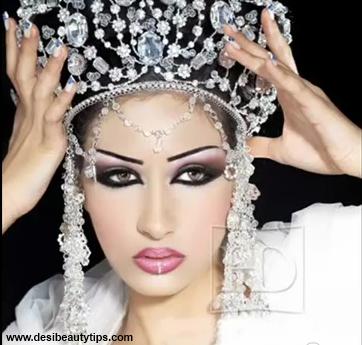 Bridal Makeup Looks Smokey Eye Brown Eyes Pictures Tips Blonde Natural Look Kit Images Pakistani Arabic