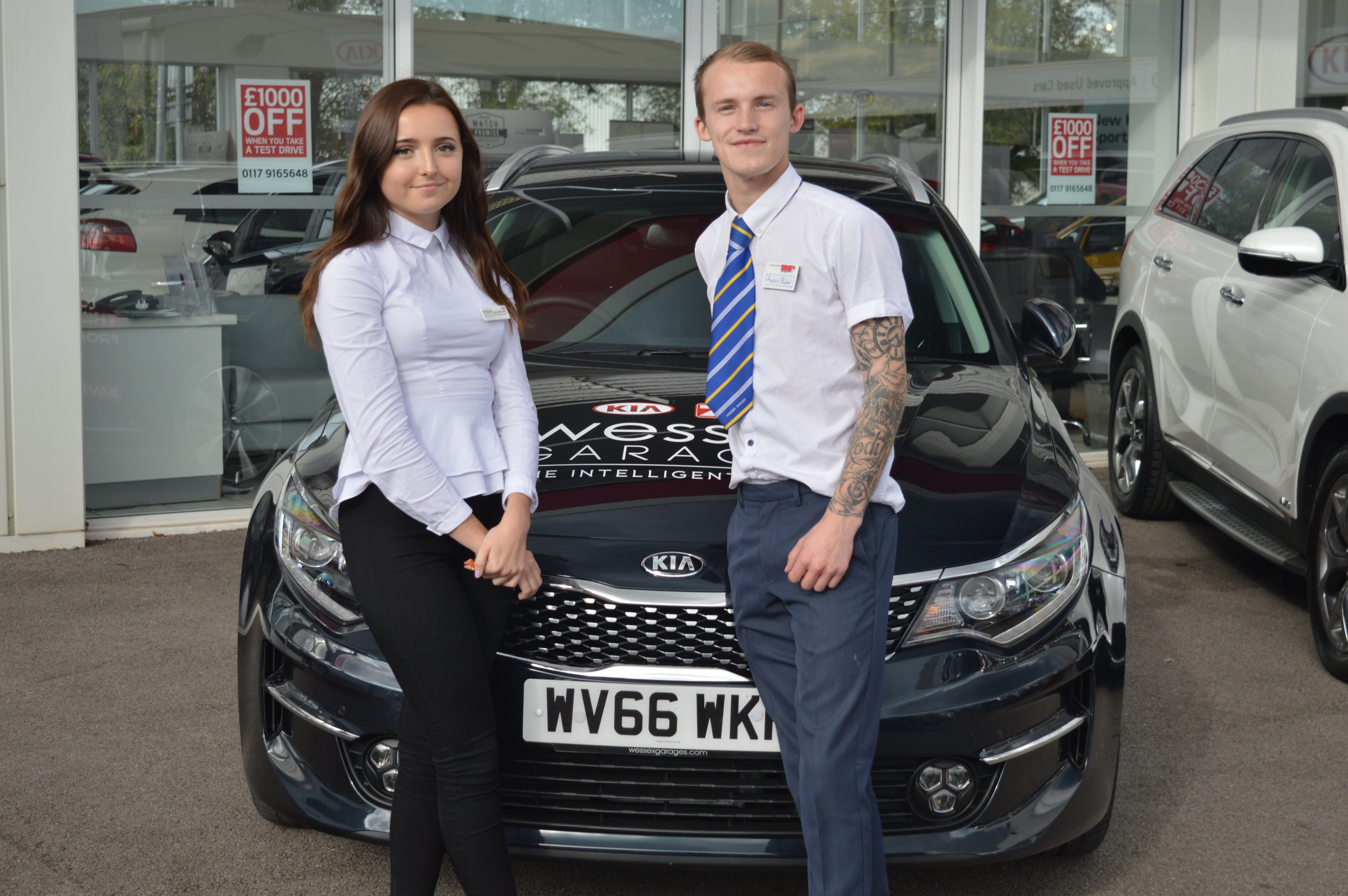 Welcome To Louise And Aaron Who Have Joined Us As Sales