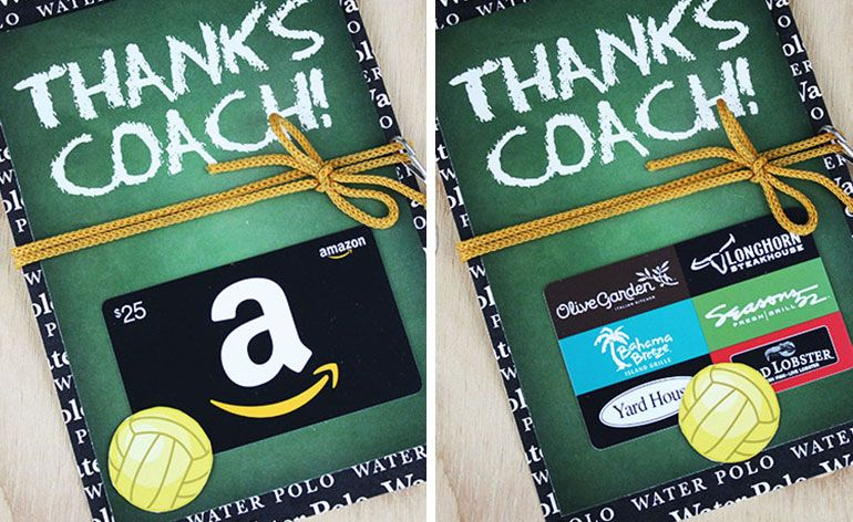3 free thanks coach gift card holders with images