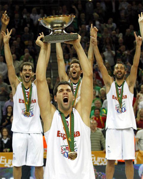Copa De Campeones De Basket De Europa Selección Española De Baloncesto Eurobasket 2011 Baloncesto Seleccion Española Campeones